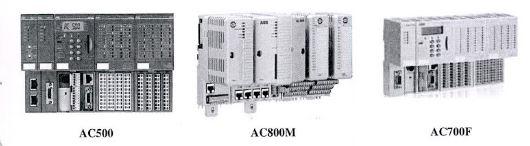 شرکت ABBسیستم کنترلPLC مختلفی با کاربردهای متفاوت عرضه میکند.