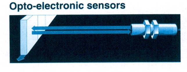 سنسورهای نوری گیرنده و فرستنده در یک بلوکDIFFUSE
